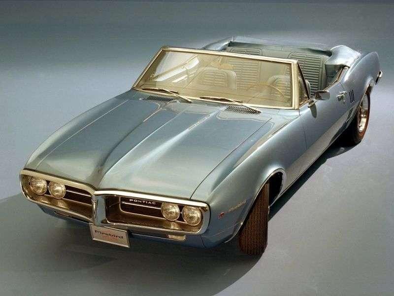 Pontiac Firebird 1st generation convertible 3.8 AT (1967–1967)