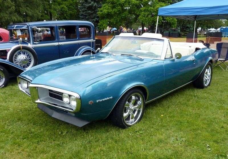 Pontiac Firebird 1st generation Convertible 5.3 AT (1967–1967)