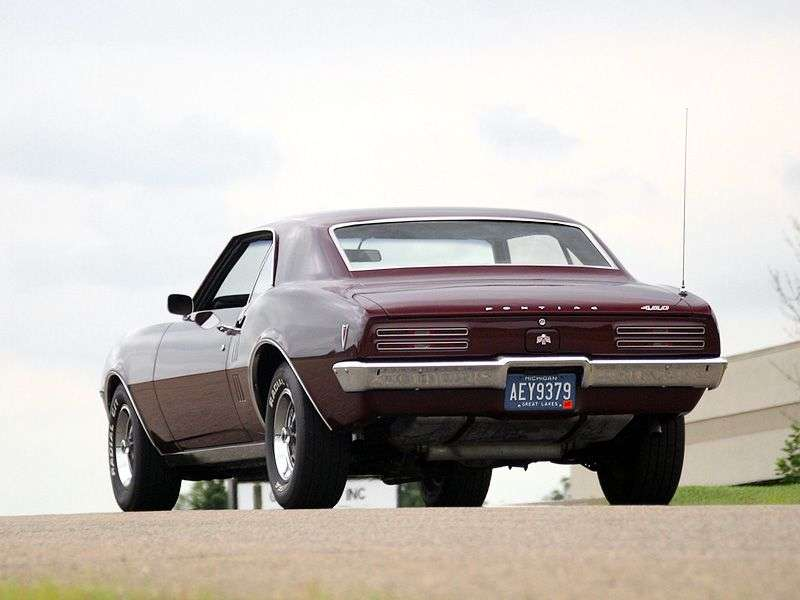 Pontiac Firebird 1st generation [restyling] coupe 6.6 Heavy Duty 4MT (1968–1968)
