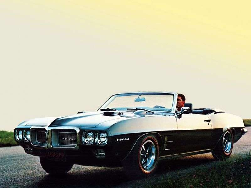 Pontiac Firebird 1st generation [2nd restyling] 4.1 4MT convertible (1969–1969)