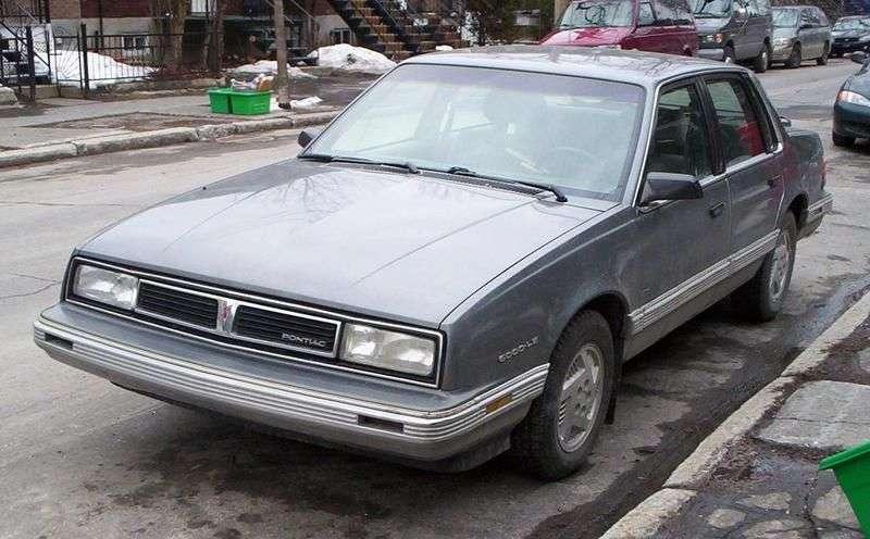 Pontiac 6000 1st generation [2nd restyling] 2.5 AT sedan (1987–1988)