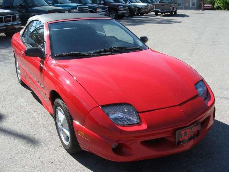 Pontiac Sunfire 1st generation convertible 2.2 AT (1995–1997)