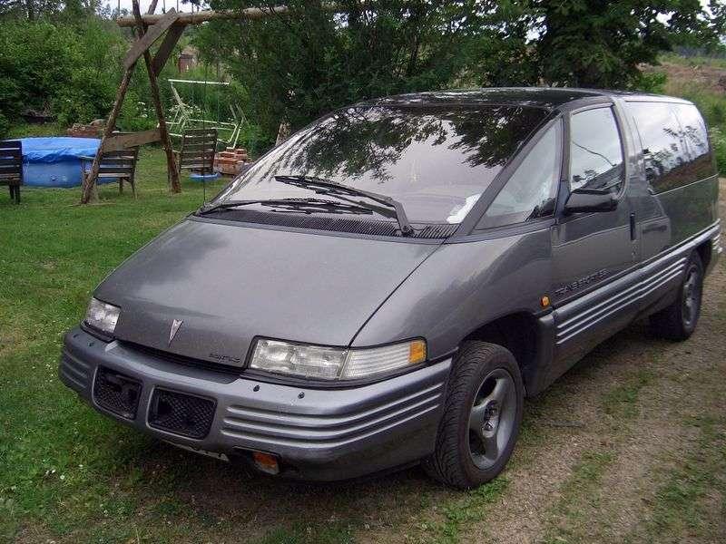 Pontiac Trans Sport 1st generation minivan 3.8 AT (1992–1993)