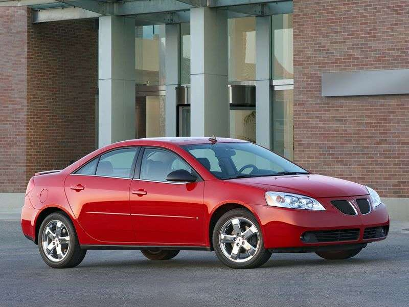 Pontiac G6 1st generation 3.9 AT GTP sedan (2006–2007)