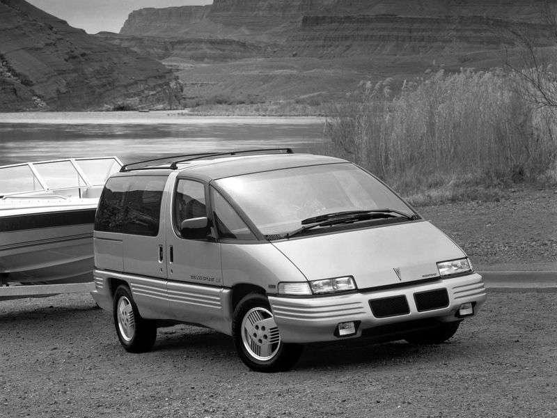 Pontiac Trans Sport 1st generation minivan 3.1 AT (1990–1993)