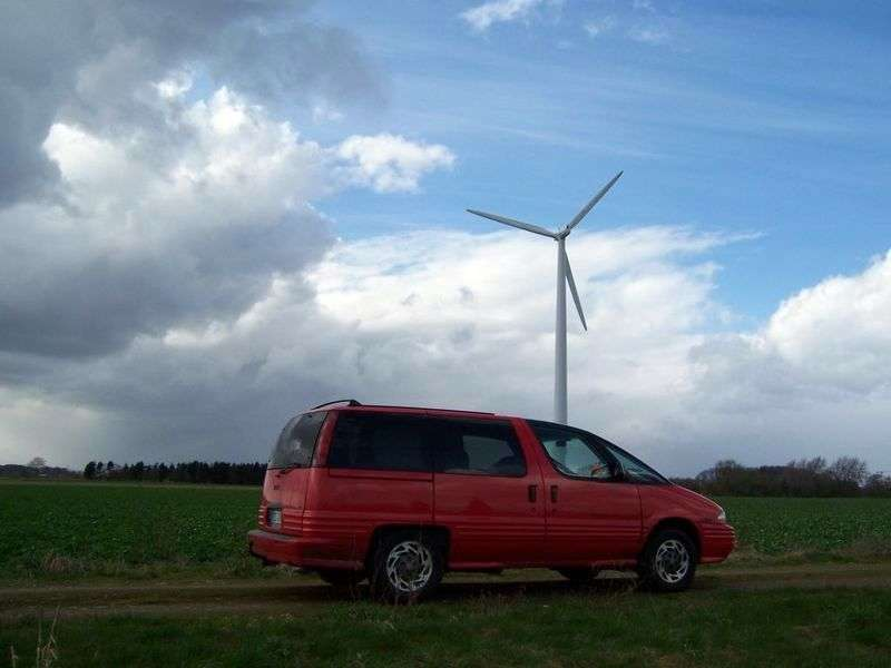 Pontiac Trans Sport 1st generation [restyled] 4 door minivan 3.1 AT (1994–1995)