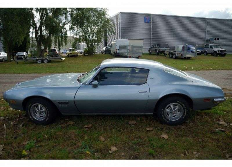 Pontiac Firebird 2nd generation Esprit Coupe 6.6 Hydra Matic (1972–1973)