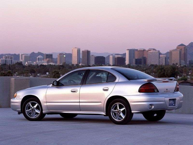 Pontiac Grand AM 5 generation sedan 3.4 AT SE2 (1999–2000)