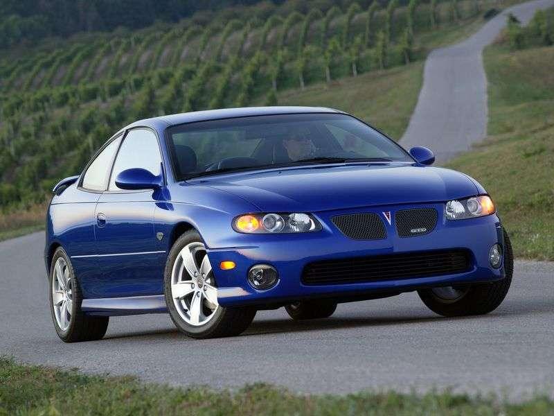 Pontiac GTO 3rd generation coupe 5.7 MT (2004–2007)