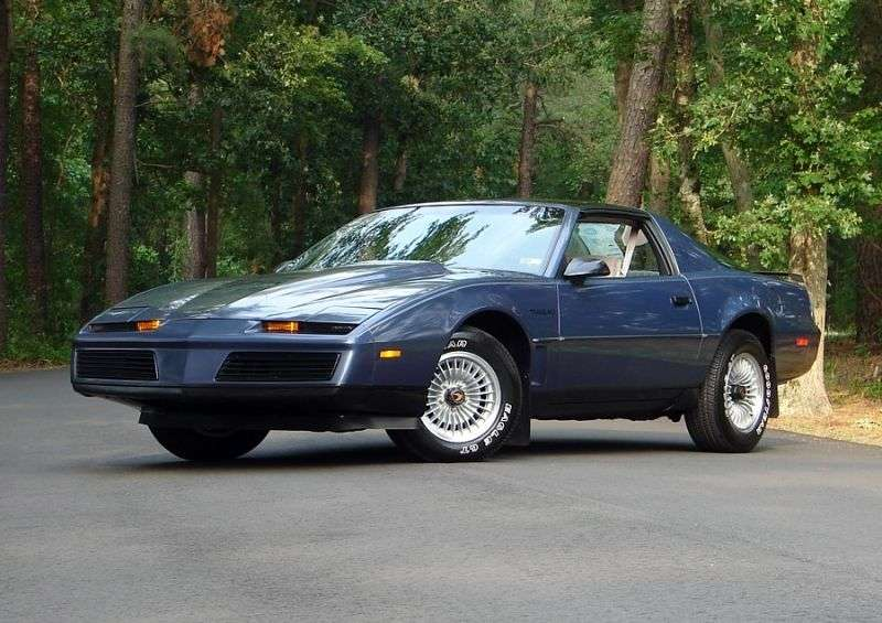 Pontiac Firebird 3rd generation Trans Am T Roof Targa 2 dv. 5.0 MT (1983–1984)
