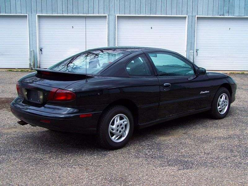 Pontiac Sunfire 1st generation coupe 2.2 AT (1998–1999)