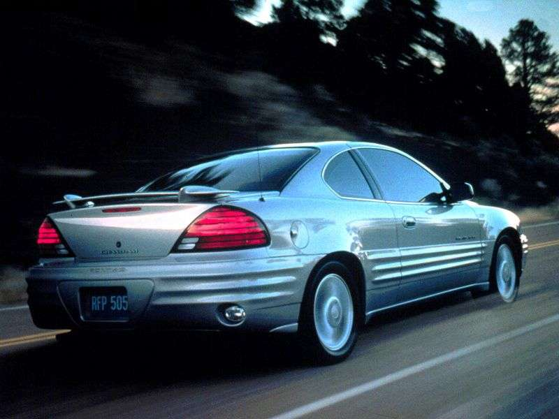 Pontiac Grand AM 5th generation coupe 2.4 AT (1999–2002)
