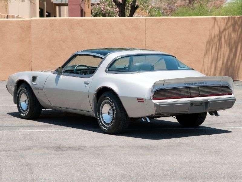 Pontiac Firebird 2nd generation [4th restyling] Trans Am 10th Anniversary T Roof Targa 2 bit. 6.6 AT (1979–1981)