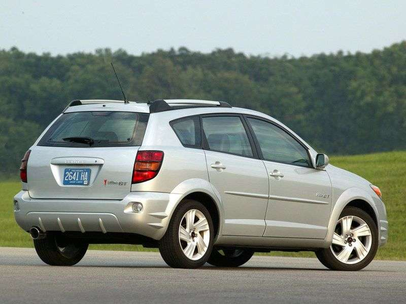 Pontiac Vibe 1st generation hatchback 1.8 MT (2003–2004)