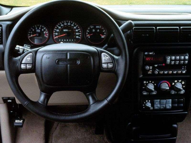 Pontiac Montana 1st generation 3.4 AT AWD minivan (2002–2004)