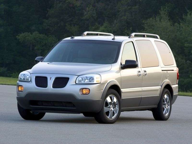 Pontiac Montana 2nd generation 3.5 AT minivan (2005 – n.)