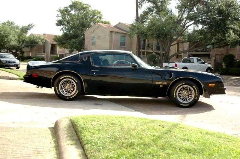 Pontiac Firebird 2nd generation [2nd restyling] Trans Am 50th Anniversary T Roof Targ 7.5 MT (1976 1977)