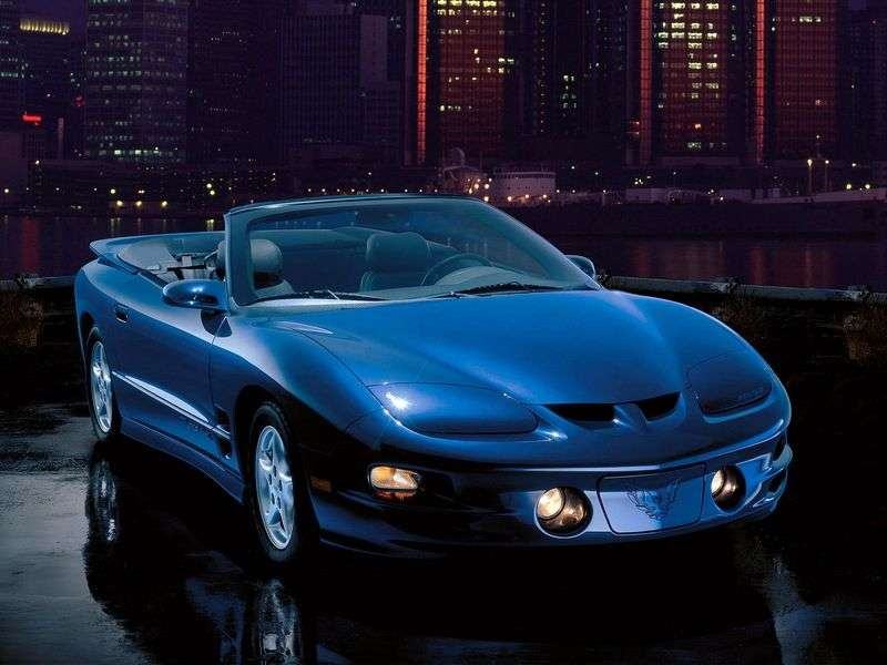 Pontiac Firebird 4th generation [restyling] 3.8 AT cabriolet (1998–2002)