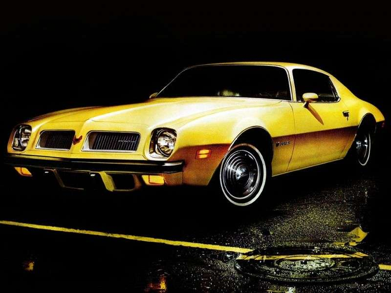 Pontiac Firebird 2nd generation [restyling] Esprit coupe 2 bit. 6.6 4MT (1974–1976)