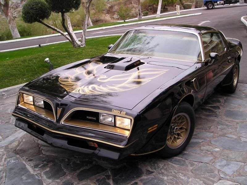 Pontiac Firebird 2nd generation [3rd restyling] Trans Am Black Special Edition T Roof targa 2 bit. 6.6 AT (1978 1978)