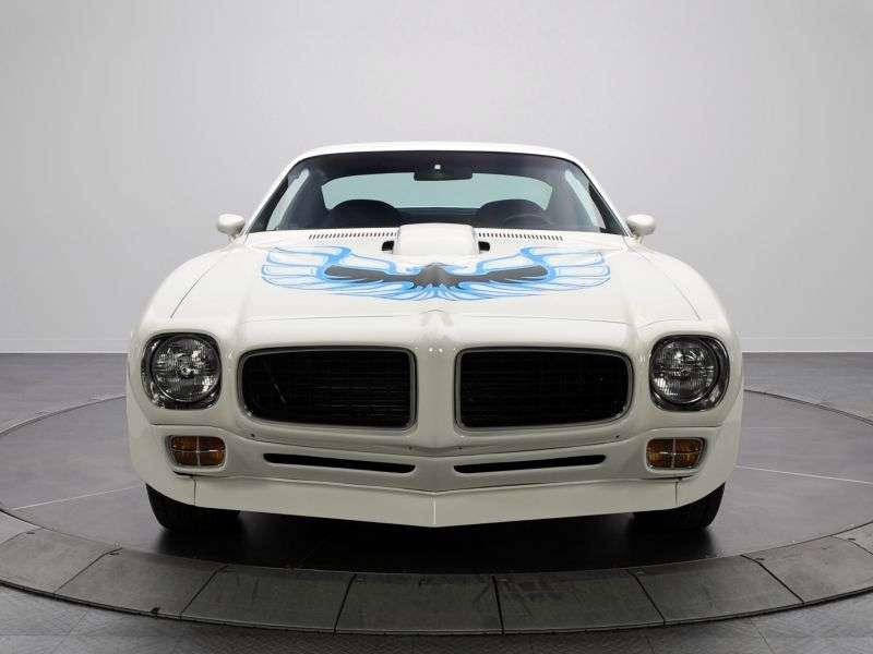 Pontiac Firebird 2nd generation Trans Am Coupe 2 dv. 7.5 MT (1973–1974)