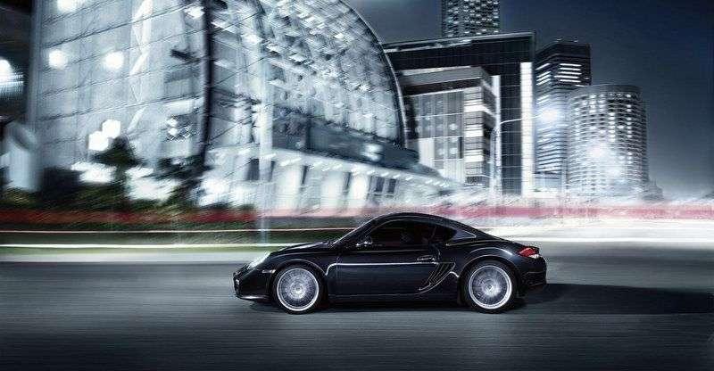 Porsche Cayman 987c [restyling] coupe 2 doors S 3.4 MT Black Edition (2010–2012)