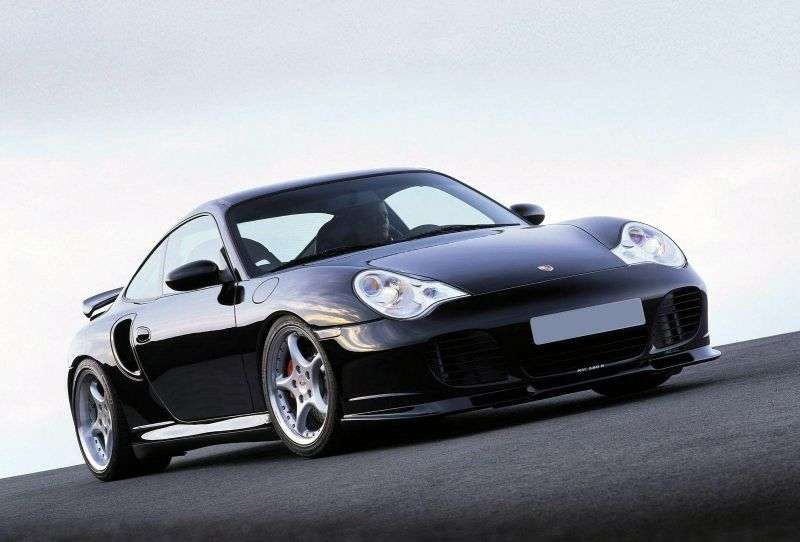 Porsche 911 996 [restyled] Turbo Coupe 3.6 MT Turbo (2000–2005)