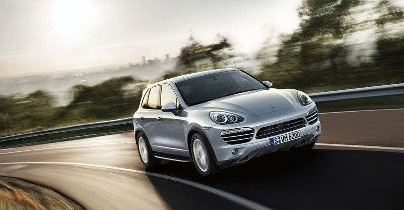 Porsche Cayenne 958 Turbo 4.8 PDK AWD Basic (2010 – n.)