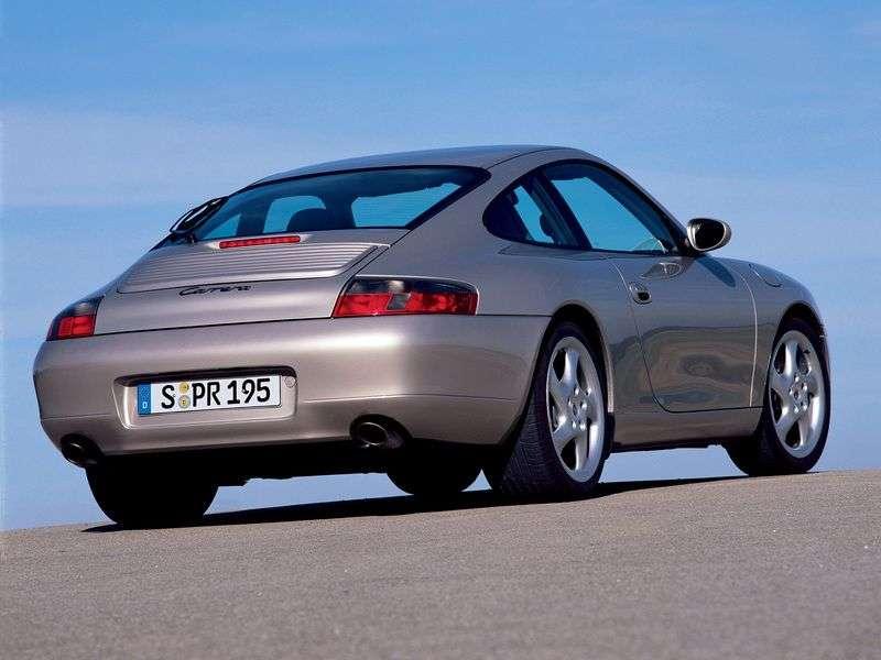 Porsche 911 996Carrera Coupe 3.4 MT Carrera 4 (1998–2001)