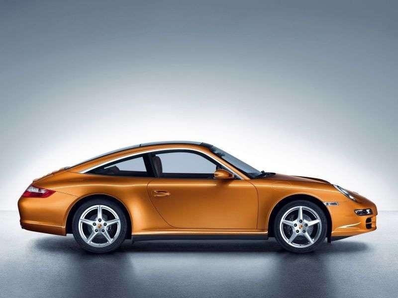 Porsche 911 997Targa Targa 4S 3.8 MT (2006–2008)