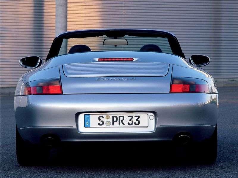 Porsche 911 996Carrera 3.4 MT Carrera Convertible (1998–2001)