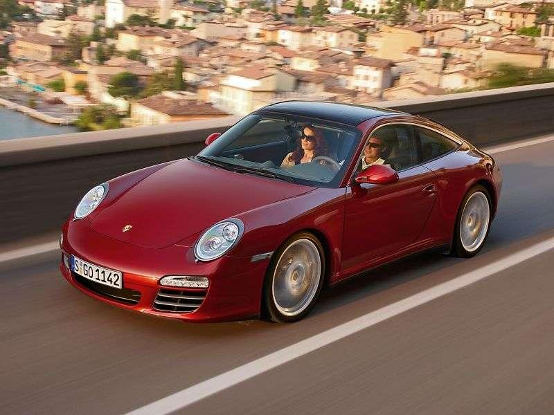 Porsche 911 997 [restyling] Targa Targa 2 dv. 4 3.6 MT AWD (2008–2013)