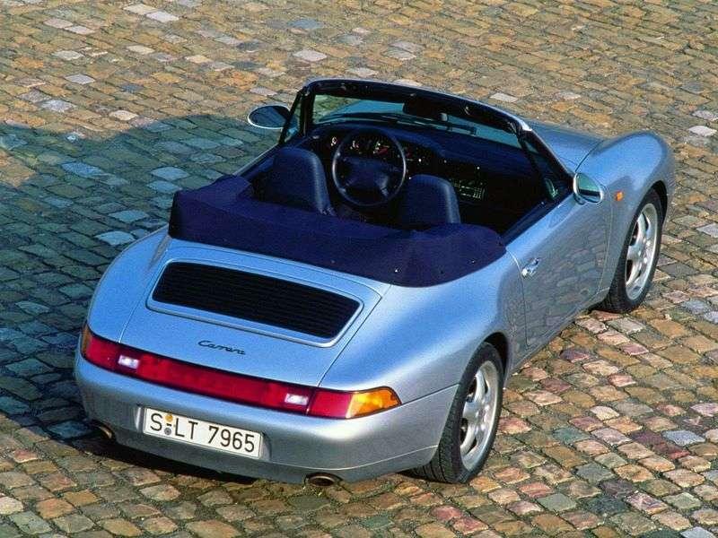 Porsche 911 993Carrera convertible 3.6 MT Carrera 4 (1995–1998)