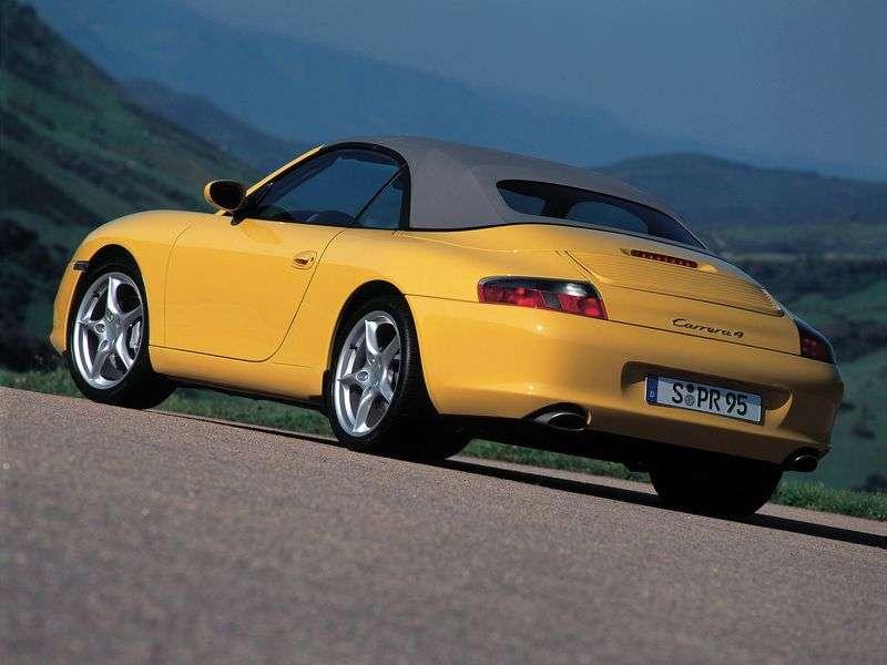 Porsche 911 996 [restyling] 3.6 MT Carrera convertible (2002–2005)