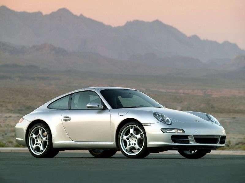 Porsche 911 997 Carrera Coupe 4 3.6 MT (2005 2008)