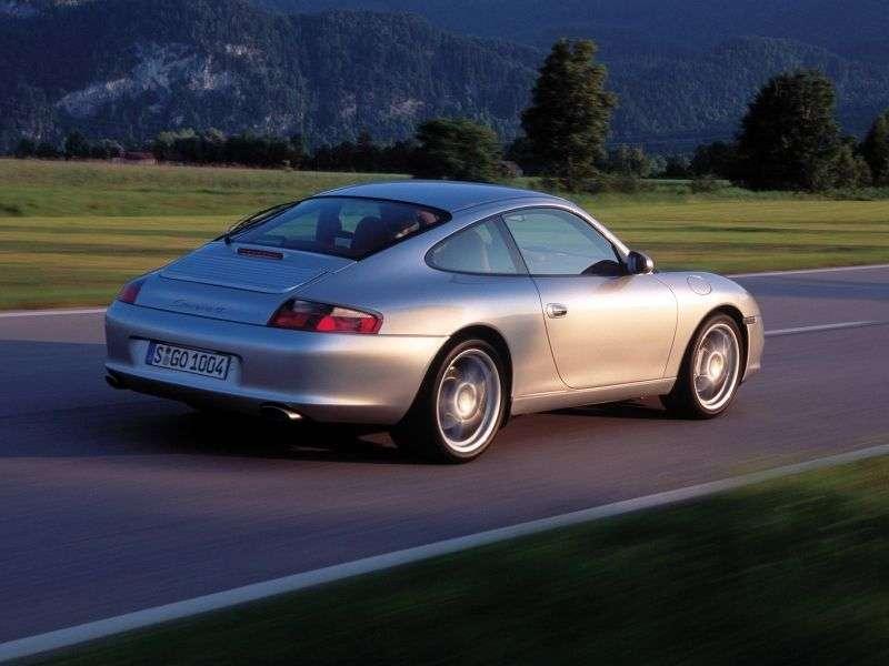 Porsche 911 996 [restyled] Carrera Coupe 3.6 MT Carrera 4 (2002–2005)