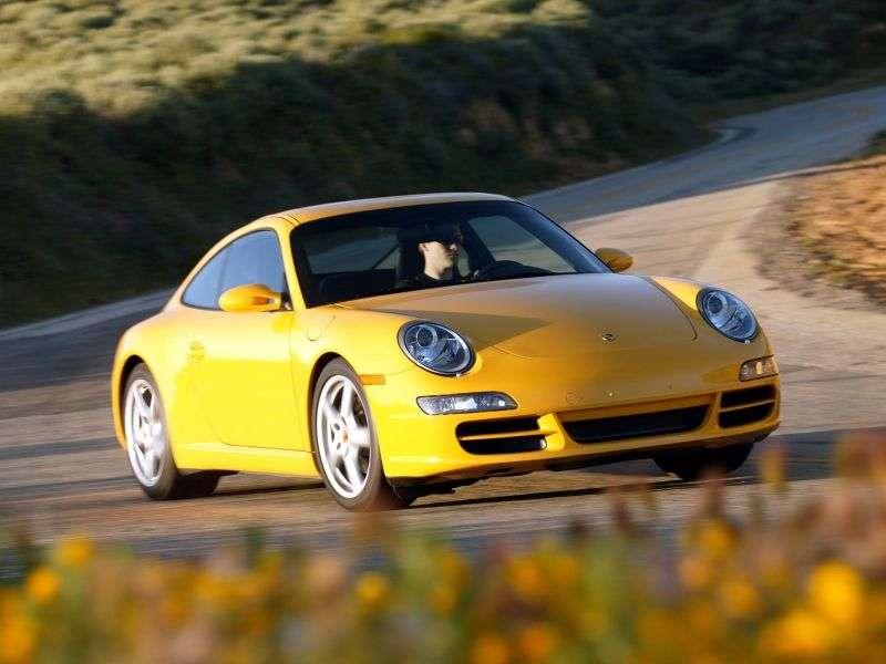 Porsche 911 997Carrera Coupe 4S 3.8 MT (2005–2008)