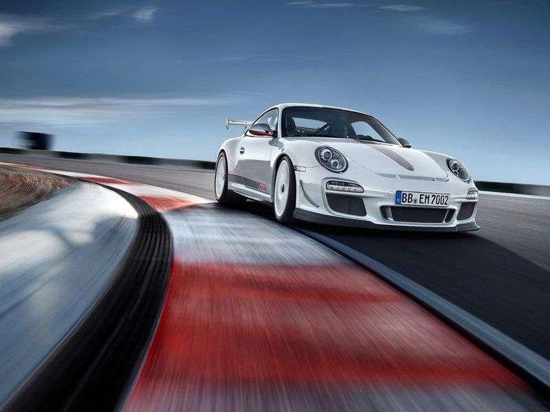 Porsche 911 997 [restyling] GT3 coupe 2 bit. RS 4.0 MT (2011–2012)