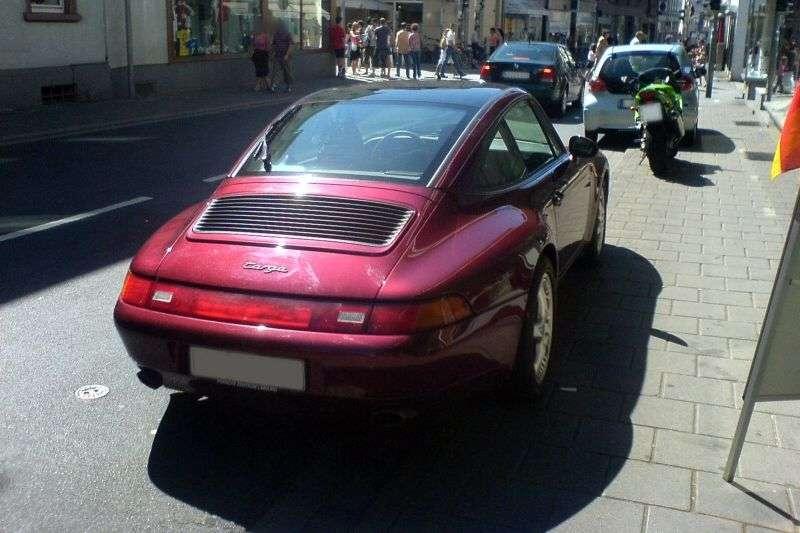 Porsche 911993 Targa Targa 3.6 MT (1995 1997)