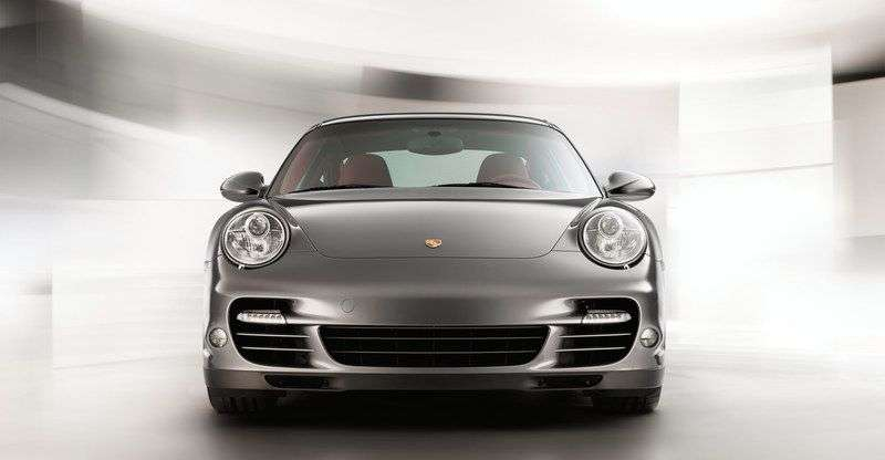 Porsche 911 997 [restyling] Turbo coupe 2 bit. 3.8 PDK AWD (2008–2012)