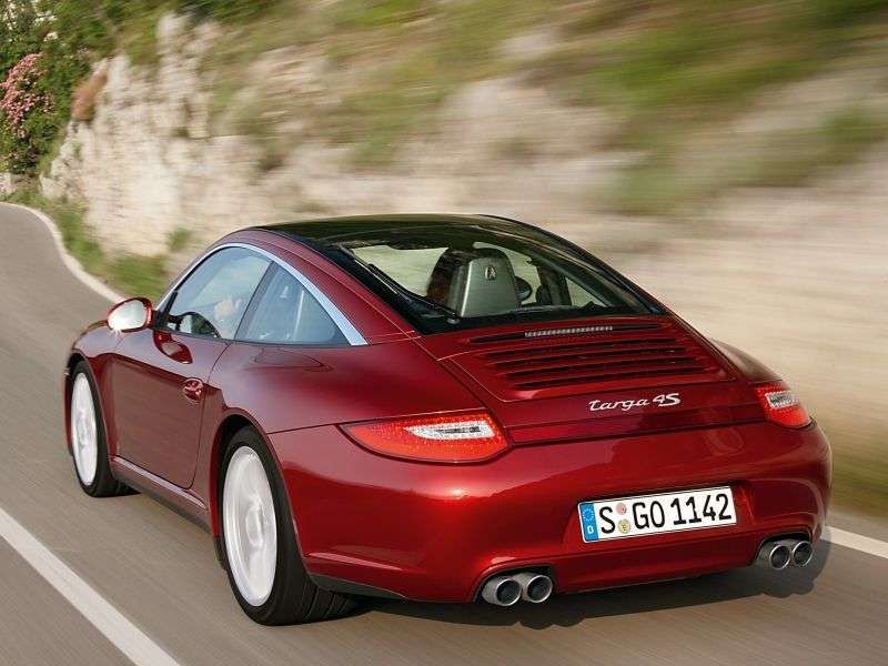 Porsche 911 997 [restyling] Targa Targa 2 dv. 4 3.6 PDK AWD (2008–2013)