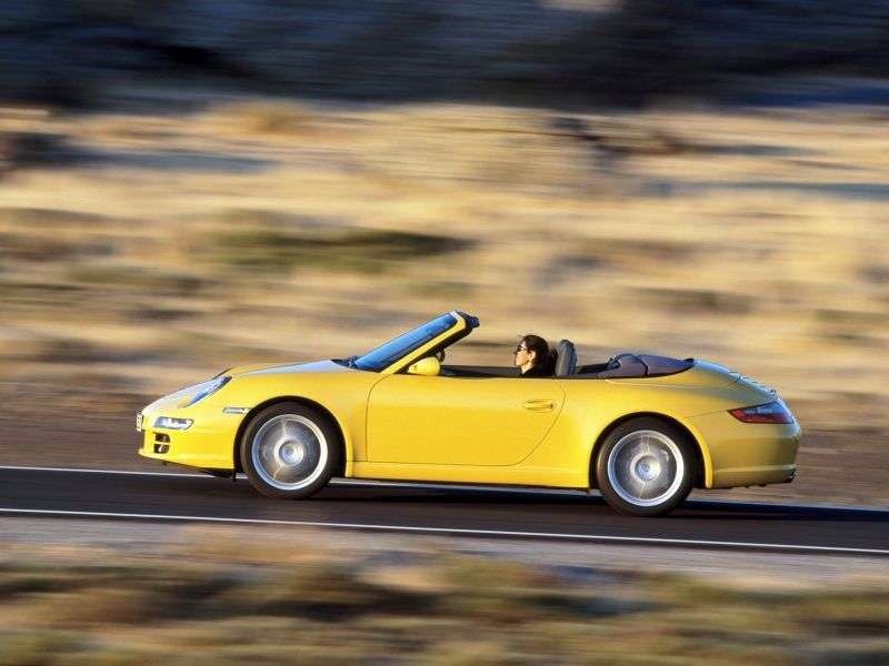 Porsche 911 997Carrera convertible 4 3.6 MT (2005–2008)