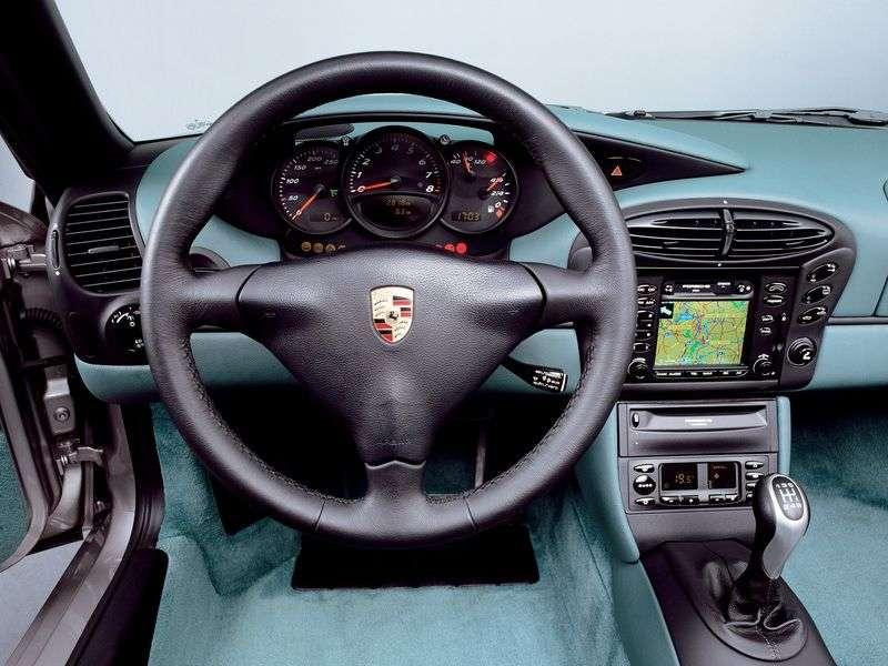 Porsche Boxster 986 Roadster 2 drzwiowy 2.7 Tiptronic (1999 2002)