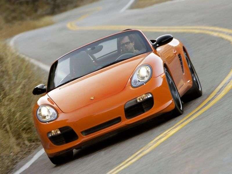 Porsche Boxster 987Spyder roadster 2 dv. 3.4 Tiptronic RS 60 Spyder (2008–2009)
