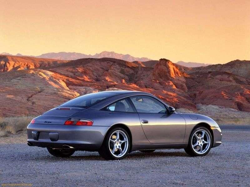 Porsche 911 996 [restyling] Targa Targa 3.6 MT (2002–2005)