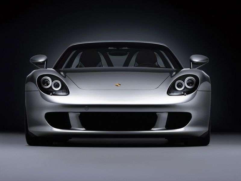 Porsche Carrera GT 1st generation 5.7 MT (2004–2006)