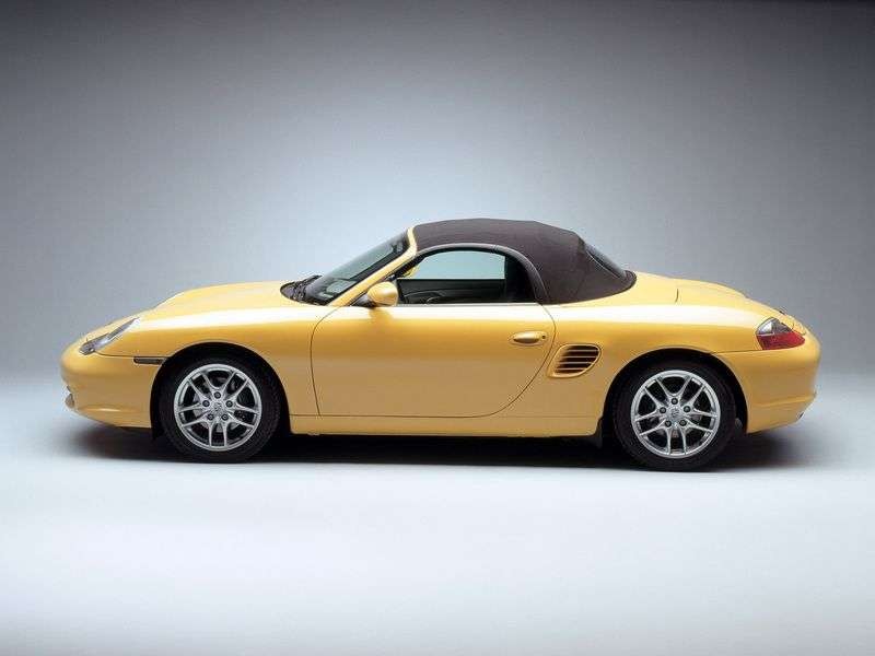 Porsche Boxster 986 [restyling] 2 dv. Roadster 2.7 MT (2002–2004)