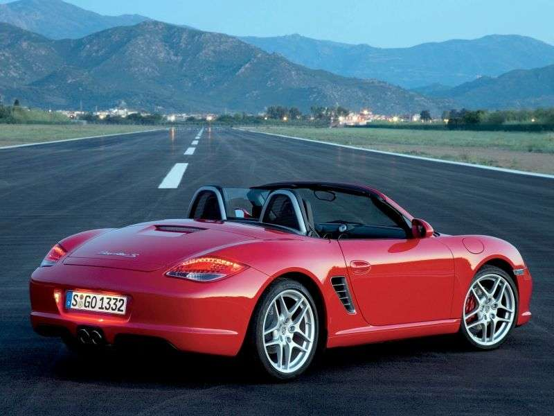 Porsche Boxster 986 [restyling] Spyder roadster 2 dv. S 3.2 Tiptronic 50 Years of the 550 (2003–2004)