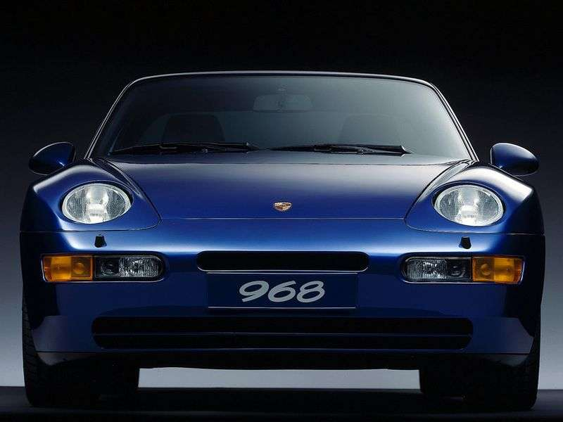 Porsche 968 1st generation Coupe 3.0 MT (1992–1995)