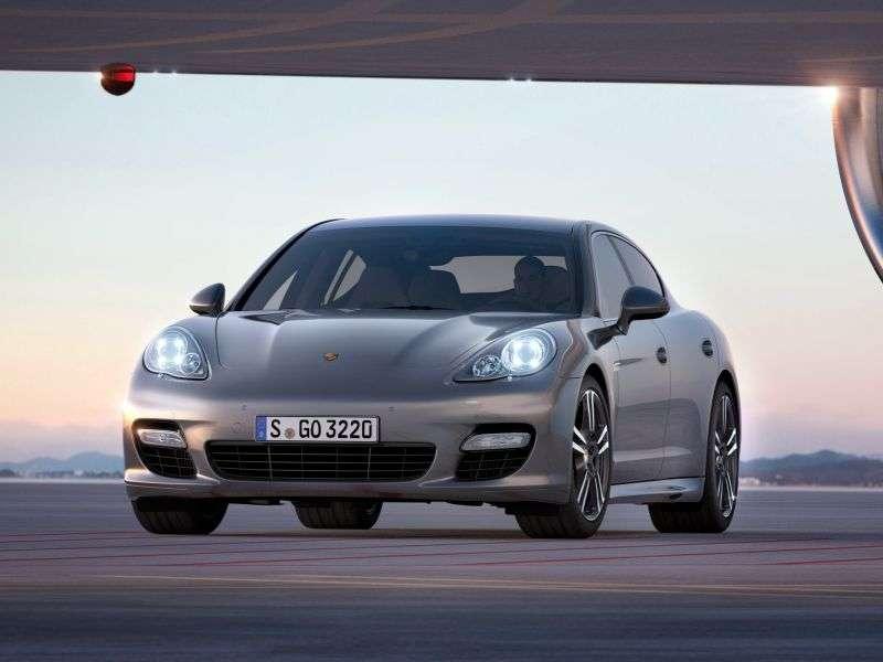 Porsche Panamera E2B Fastback Turbo S 4.8 PDK AWD (2009–2013)